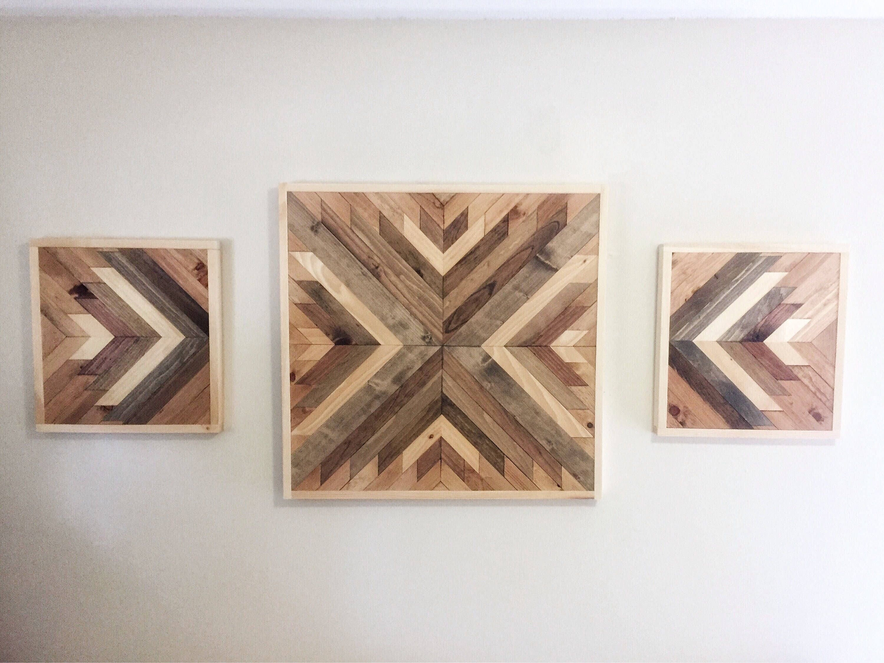 Reclaimed Wood Wall Art, Wood Wall Decor, Farmhouse Decor, Rustic Wall Art, Wood  Wall Hanging