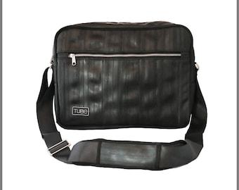 Arnold Handcrafted Shoulder bag, Vegan Messenger Bag, Casual bag from recycled rubber