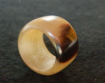 Ring size 55 Buffalo Horn
