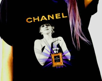 Chanel Marilyn inspired shirt M/L/XL/2XL