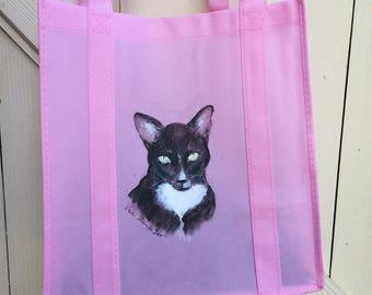 Cat Tote Shopping Bag
