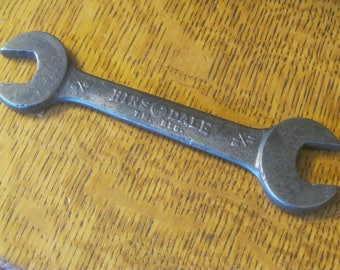 Hindsdale Open End Box Wrench , 1940's Wrench
