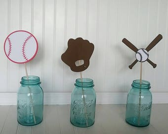 Baseball Party - Sports Birthday Party - Sports Party Centerpieces