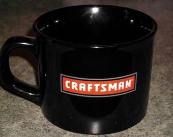 Vintage 1995 CRAFTSMAN 14 oz. Ceramic Mug