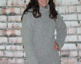 Easy Crochet Bulky Sweater Pattern  515