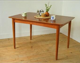 dining table teak mid century danish design Remploy