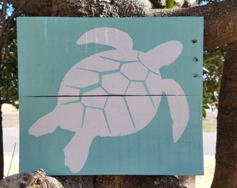 Turtle Wood Sign
