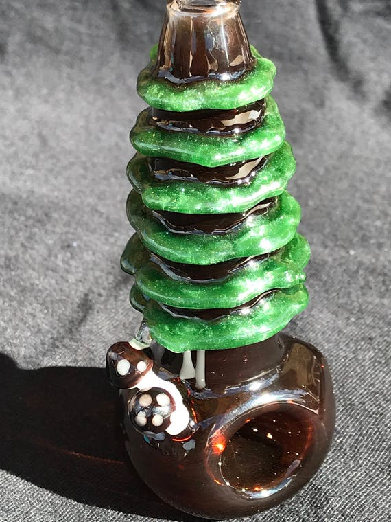 Tree of Life Glass Pipe