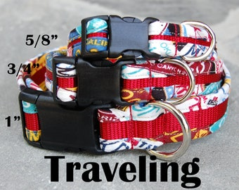 StitchPet Dog and Pet Collars - Traveling