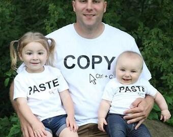 Copy & Paste Matching T-shirt Set