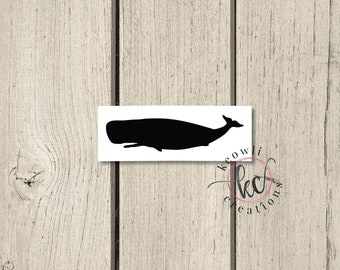 Sperm Whale Vinyl Decal