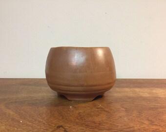 """4.5"""" Round Vintage Terracotta Flower Pot Planter"""