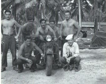 WWII sailors south pacific on harley davidson 1940s download