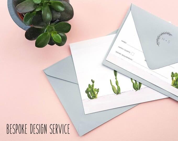 Featured listing image: Bespoke Wedding Stationery Design