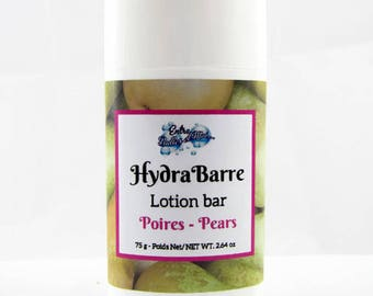 Hydratant en Barre- fragrance Poires-HydraBarre