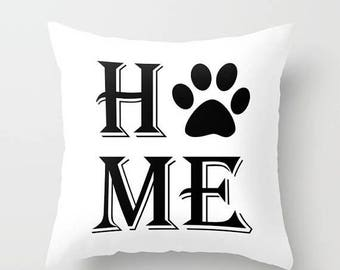 Christmas in July Decorative Throw Pillow Cover Home Paw Print Home Decor Case Bedroom Couch Sofa Dog Cat Animal Lover Pet Rescue Kitten Pup