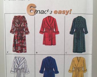 1960s Men's Robe, Simplicity 7417, Sewing Pattern, Teen's Robe, Bath Robe, Terry Cloth Robe, Pocket Robe, Short Robe, Long Robe, Tie Robe
