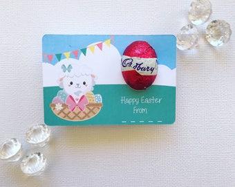 Easter lamb egg card