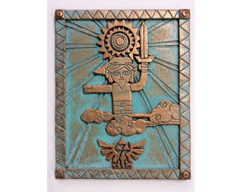 "Legend of Zelda - Aged Patina - Wall Display 12.5"" (32cm)"