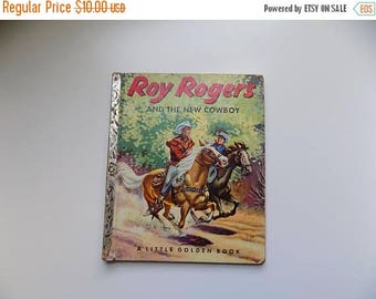 50s Childrens Book Roy Rogers and the New Cowboy A Little Golden Book Copyright 1953