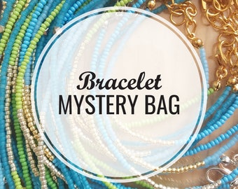 Jewelry Mystery Box Grab Bag; bracelet mystery bag, goodie bag, mystery box, bracelets grab bag, gift, gifts, surprise