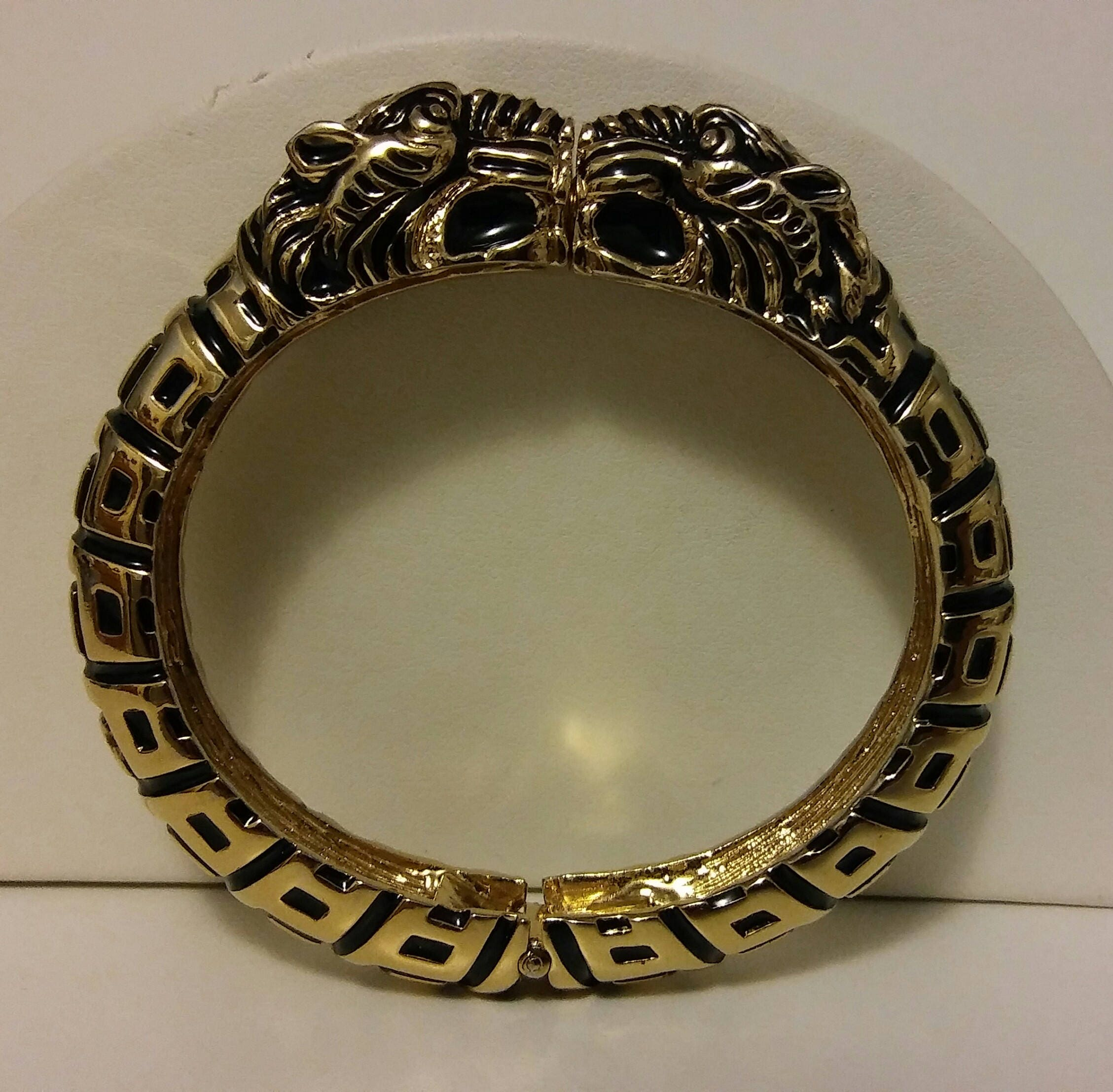luxurious it heavy find design and plated style bracelet itm etched to gold in clamshell standard measures this monet heavily that wrist clamper size vintage is thick hard by