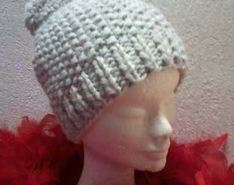 Very soft and fluffy wool Cap