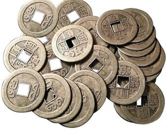 Set of 10pcs Chinese Feng Shui diameter 13 mm