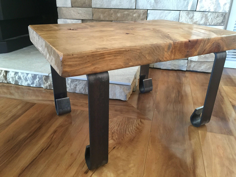 4 Pack Straight Rustic Reclaimed Metal Coffee Table Legs Steel