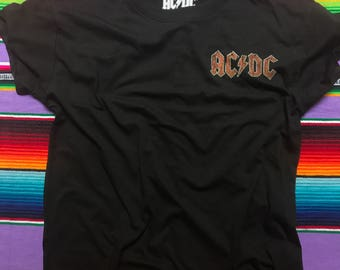 Old School 1980 AC/DC band shirt