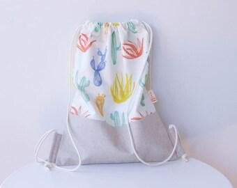 Calix-waxed Cotton backpack