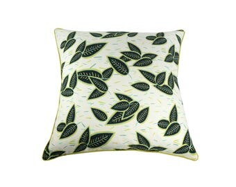 "Double sided printed ""Béa"" cushion"