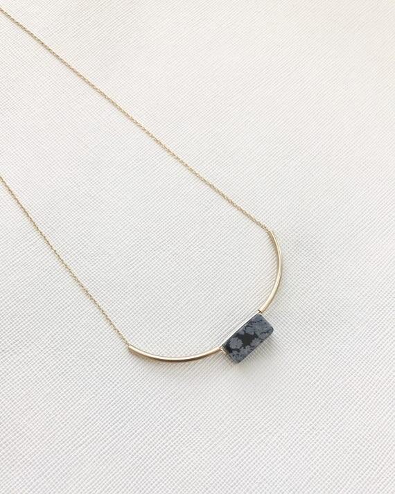 MIES - Snowflake Obsidian