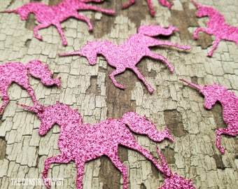 25 2-Inch》UNICORN《 Confetti/Table Scatter/Birthday/Photoshoot/Cake Smash/Party Supplies/Decor