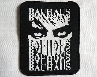 Vintage Deadstock - Never Worn - Early 90s - Bauhaus / Peter Murphy - Sew On Patch
