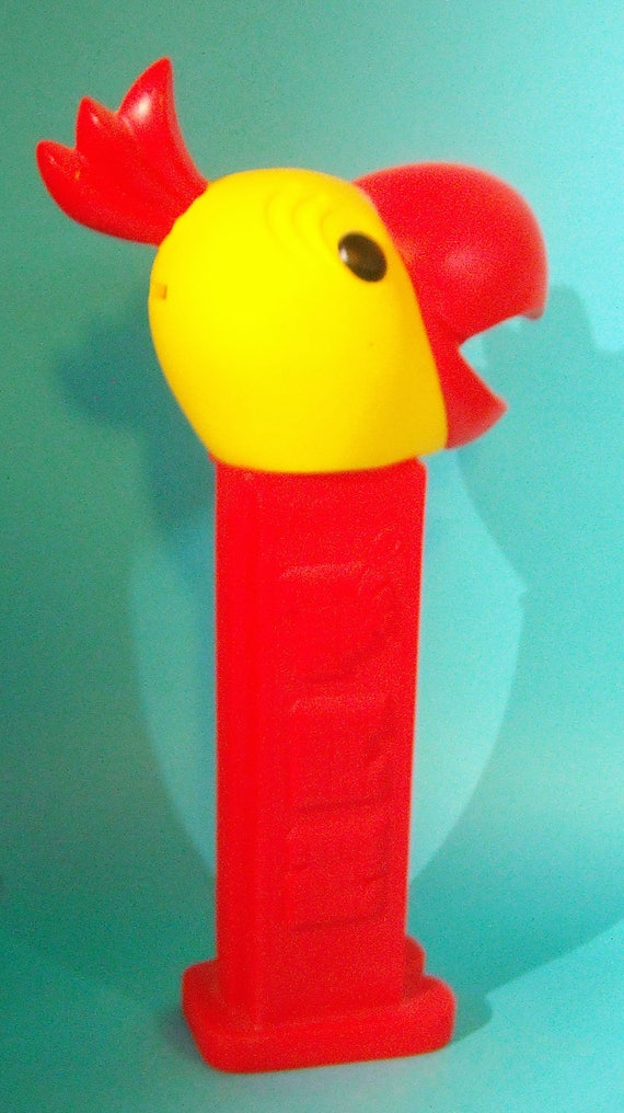 "Pez 12"" tall Collectible Parrot Bank"