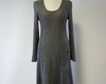 Special price, graphite linen dress, M size.