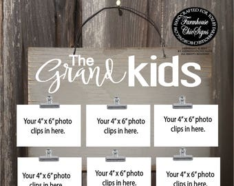 grandkids, grandkids sign, grandkids frame, gift from grandkids, grandkids picture frame, grandchildren, grandchildren frame