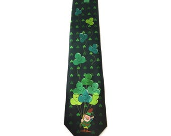 Stonehouse Collection Men's St. Patrick's Day Tie - St Patricks Day Necktie - 26039