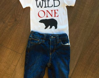 Boy's First Birthday | Wild One | Custom
