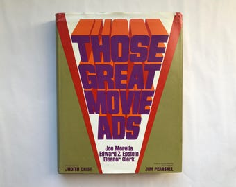 Those great movie ads,Hardcover– 1972