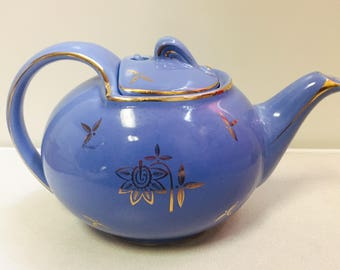 Blue Hall Teapot