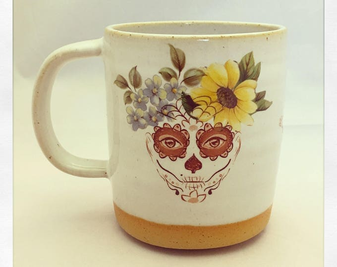 Featured listing image: Day of the Dead- Sugar Skull Limited Edition Mug