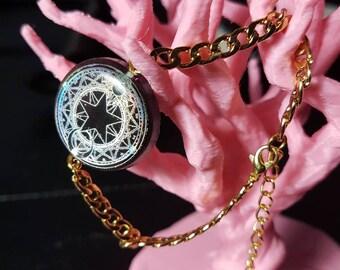Spell Circle Mahou Shoujou style Bracelet - Nickel free