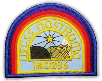ALIEN USCSS NOSTROMO Covenant Crew Uniform Embroidered Patch