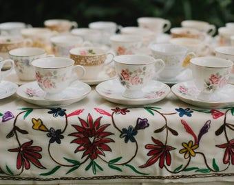 Vintage Tea Setting For 60