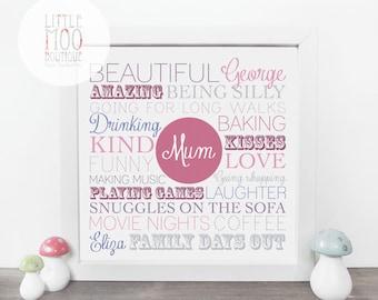 Gift Ideas for Mum - gift for her - Gift for Mum - Unique birthday Gift for Mum - Grandma Gift - Mothers Day gift - Sentimental Gift for Mum