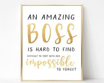 Boss Gift Etsy