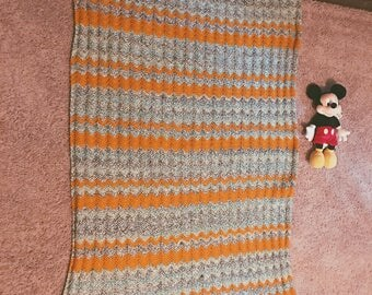 Crochet Toddler Afghan