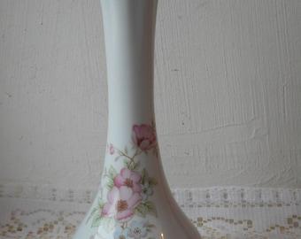 stunning vintage Limoges porcelain decorative vase / ornament